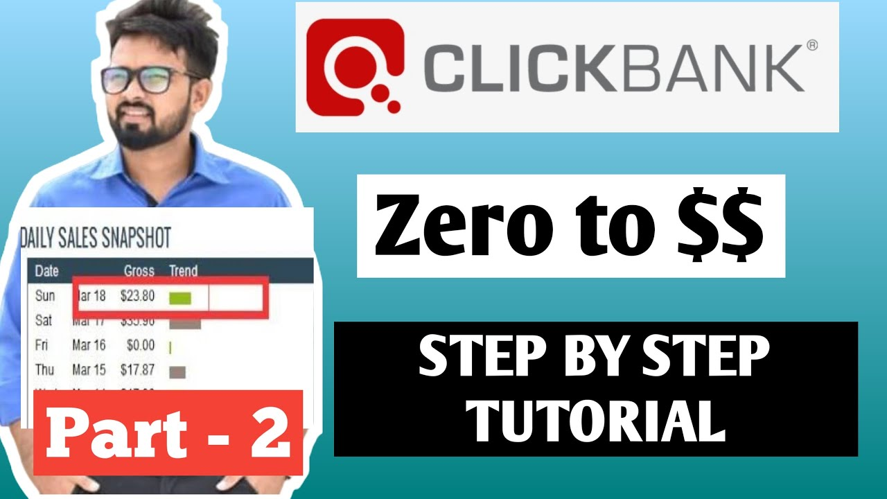Clickbank tutorial for beginners  | Clickbank affiliate marketing | Part-2 in hindi