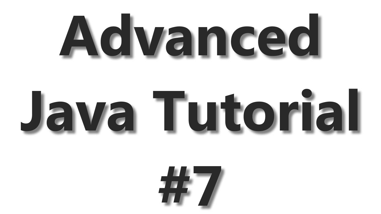 Advanced Java Tutorial #7 – Working with Excel and Apache POI