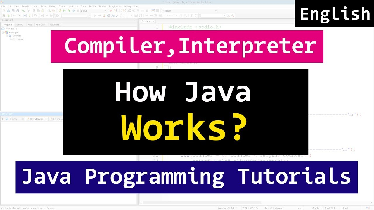 How Java Program Works, Compiler, Interpreter  | Java Tutorial