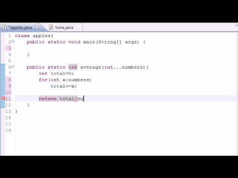 Java Programming Tutorial – 35 – Variable Length Arguments