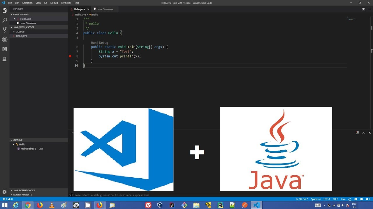 How to Set Up Java Development in Visual Studio Code on Windows | vsCode Java Development Basics