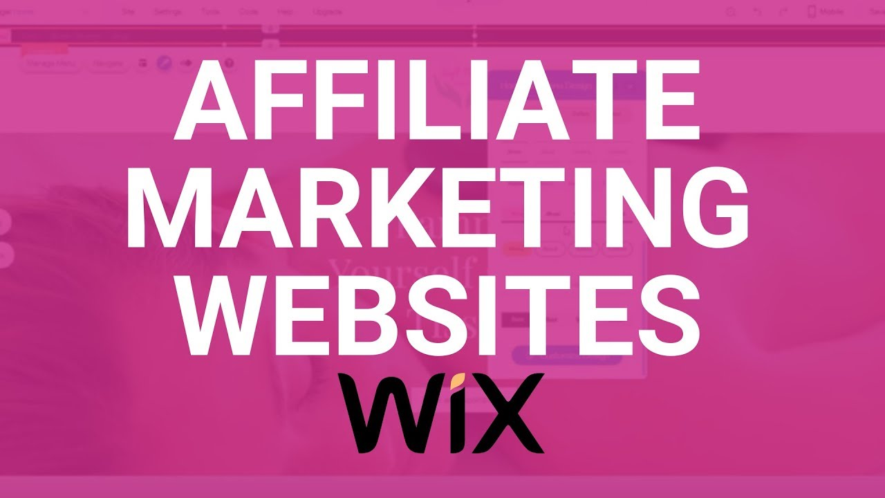 How to Create Wix Affiliate Advertising – Wix Tutorial