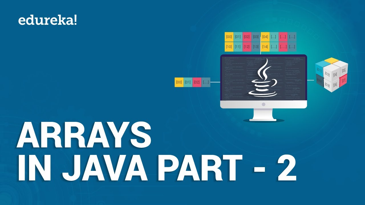 Arrays in Java – 2 | Searching and Sorting Arrays in Java | Java Tutorial for Beginners | Edureka