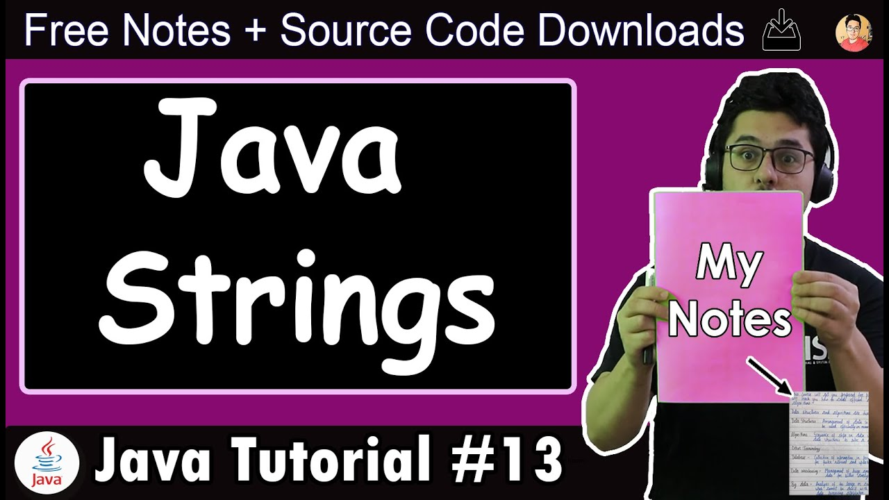 Java Tutorial: Introduction to Strings