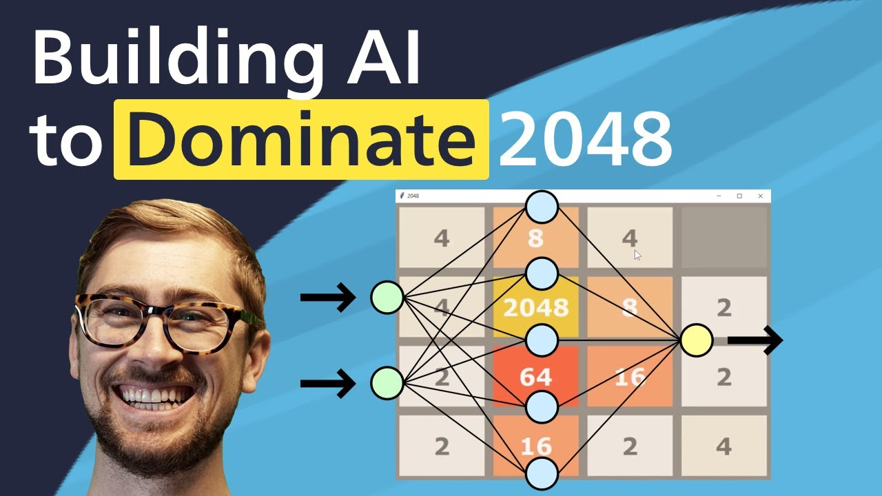 Create an AI using tree search to DOMINATE 2048 [Python tutorial]