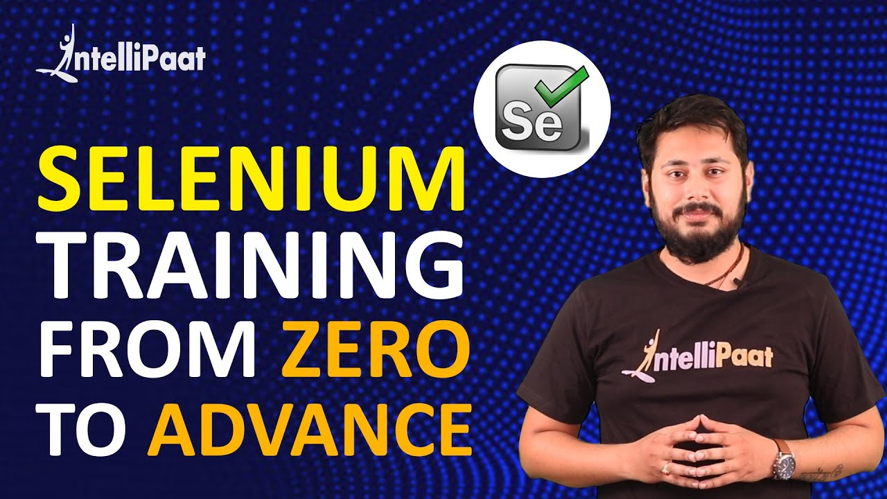 Selenium Training | Selenium Full Course | Selenium Java Tutorial | Intellipaat