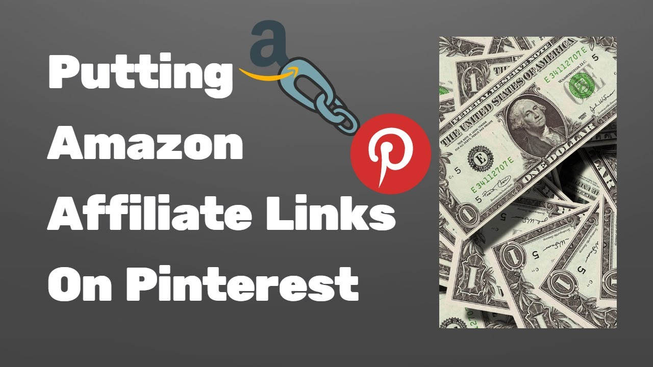 Using Amazon Affiliate Links on Pinterest tutorial