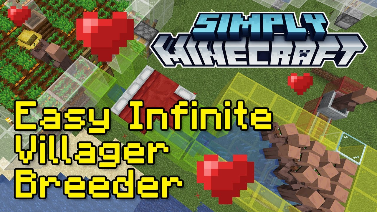 Easy Infinite Villager Breeder Tutorial | Simply Minecraft (Java Edition 1.16)