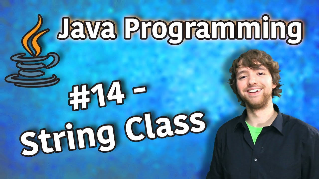 Java Programming Tutorial 14 – String Class (String.format, length)