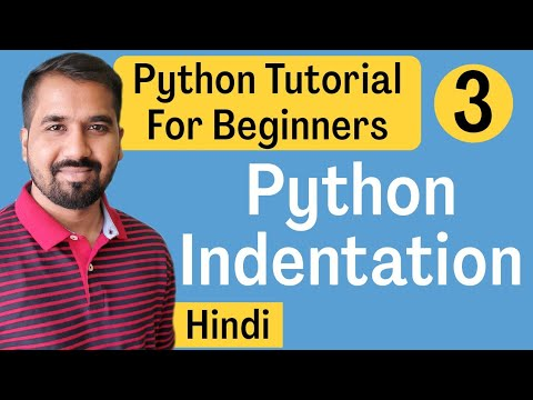 Python Indentation Explained in Hindi l Python Tutorial For Beginners