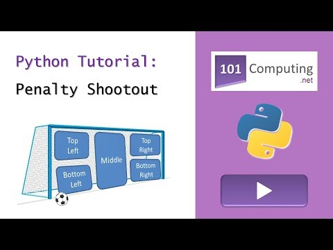 Python Tutorial – Penalty Shootout Game