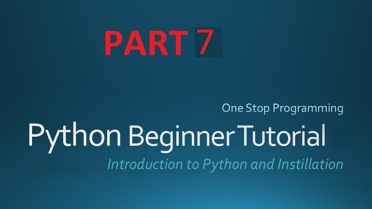 Python Tutorial for Absolute Beginners #7 – What Are Python Strings Tutorials?
