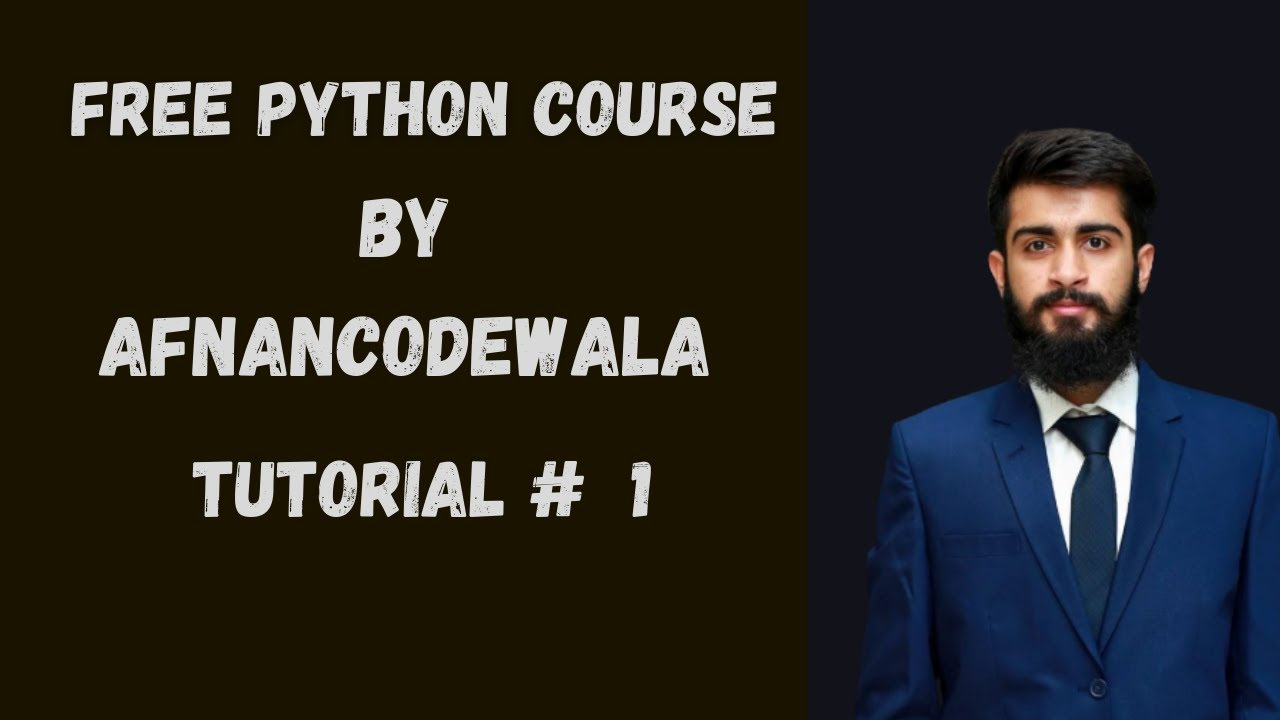 Why learn python | Introduction to Python? Python tutorial #1 in HINDI | URDU ||AfnanCodeWala