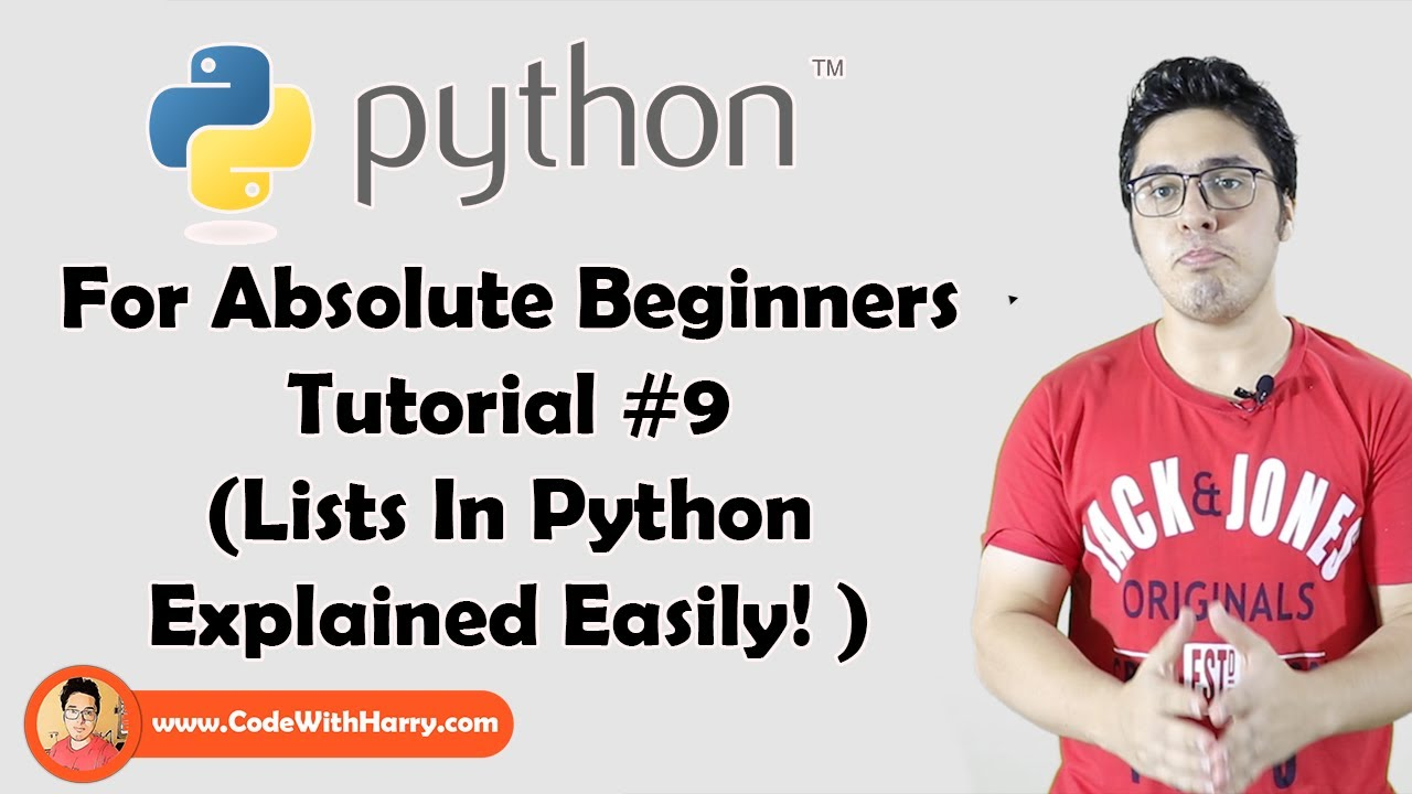 Python Lists And List Functions | Python Tutorials For Absolute Beginners In Hindi #9
