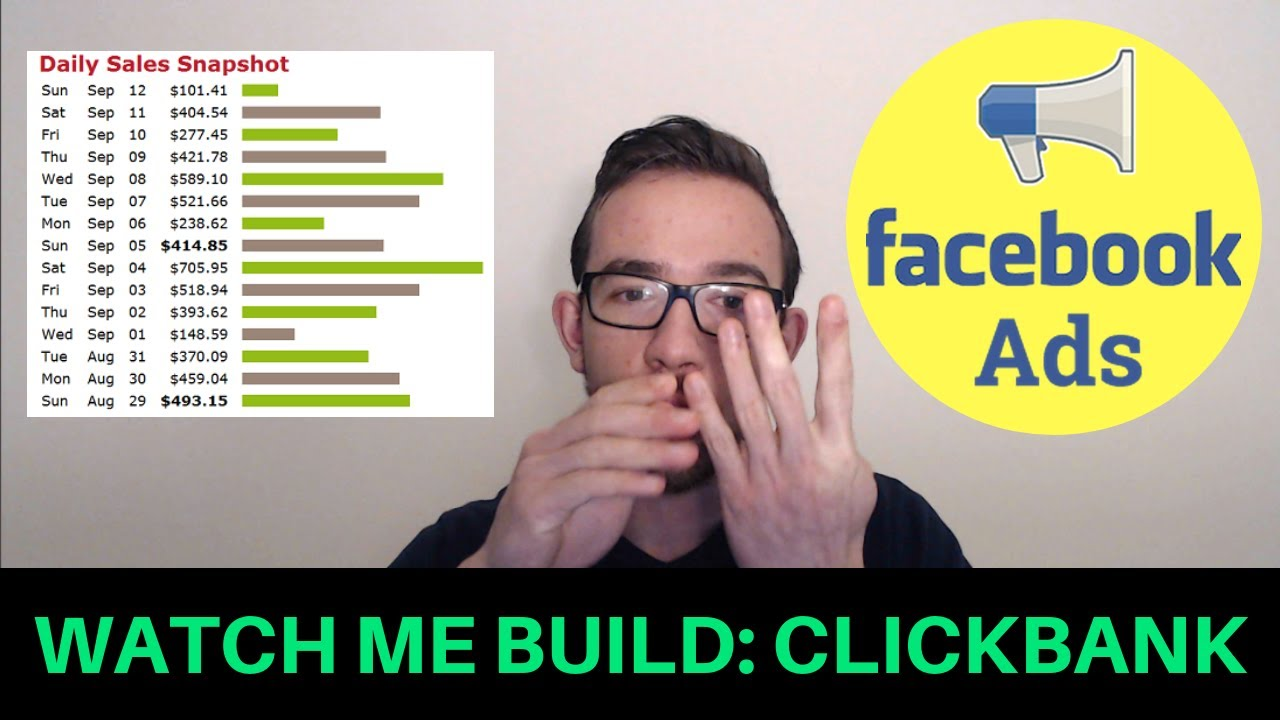 Watch Me Build a Clickbank Campaign Using Facebook Ads [Beginner Tutorial]