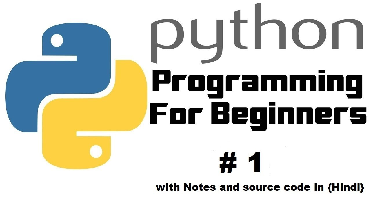 Python tutorial for Beginner in {HIndi} with notes