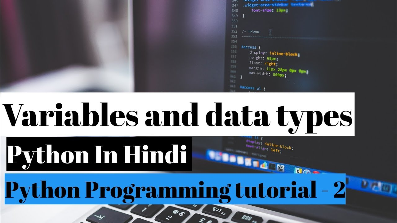Variables and Data Types in Python in Hindi || Python tutorial ||#TechnicalVerse #Pythoncoding