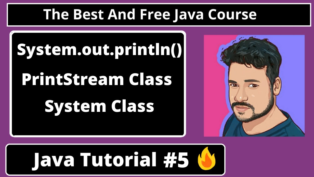 Java Tutorial : Understanding System.out.println(), Basic structure of java program | part 5