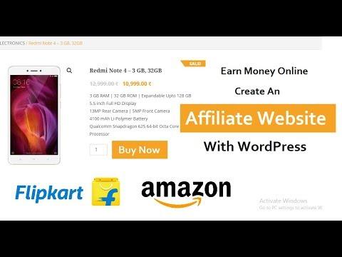 How To Create An Affiliate Website With WordPress | Flipkart Affiliate Website