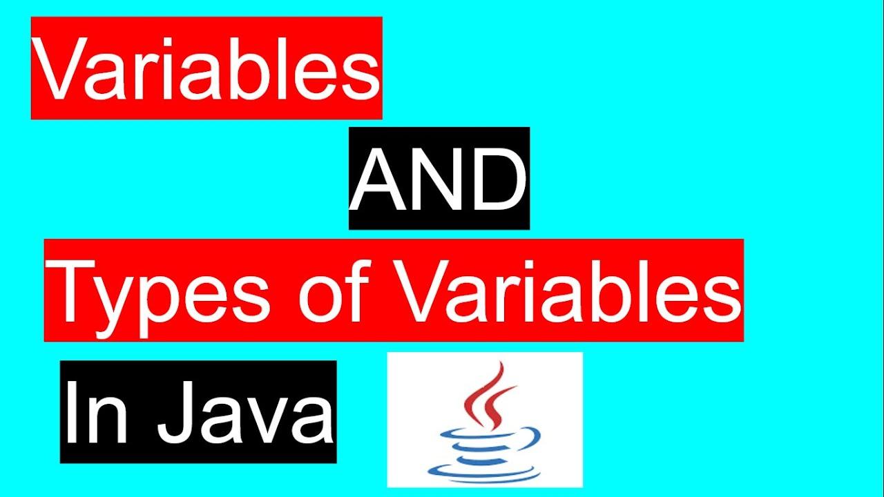 variablesInJava |Java tutorial | Java basics-#12