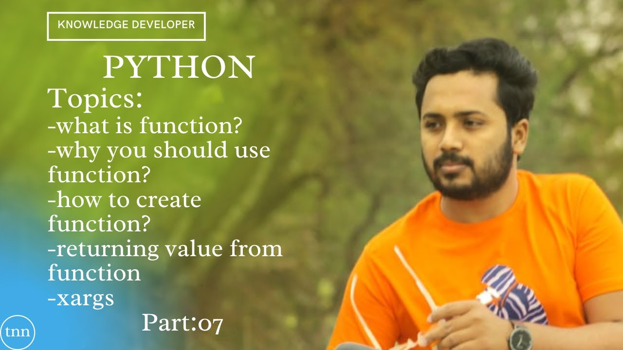 Python Tutorial for Beginners : 07 | Python Tutorial | Knowledge developer