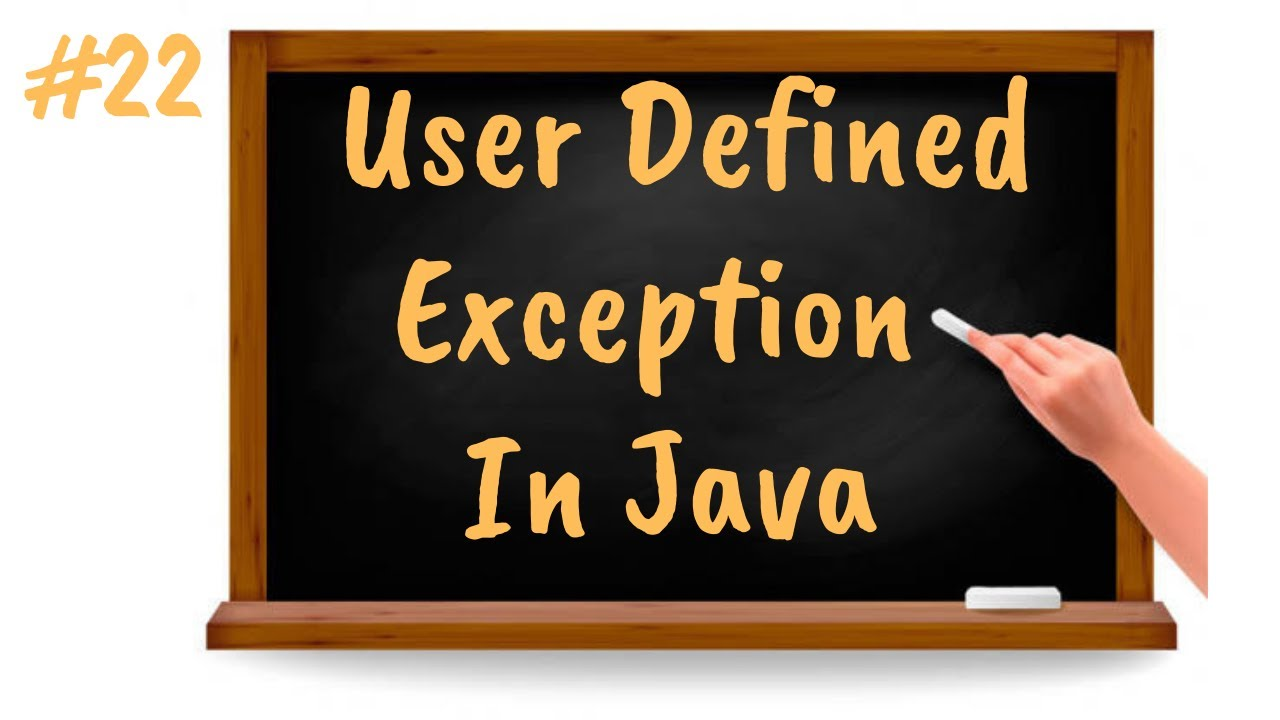User Defined Exception in Java | Java Tutorial for Beginners in Tamil