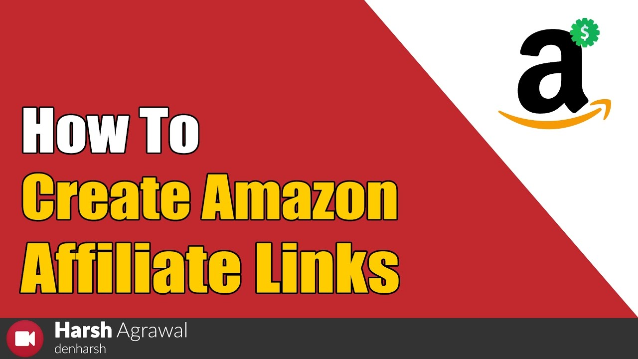 How To Create Amazon Affiliate Links – Beginners Guide