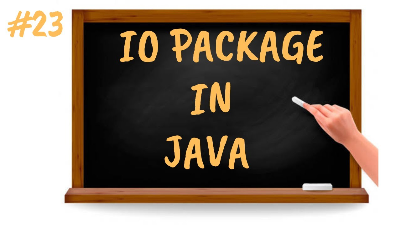 IO Package in Java | Java Tutorial for Beginners in Tamil