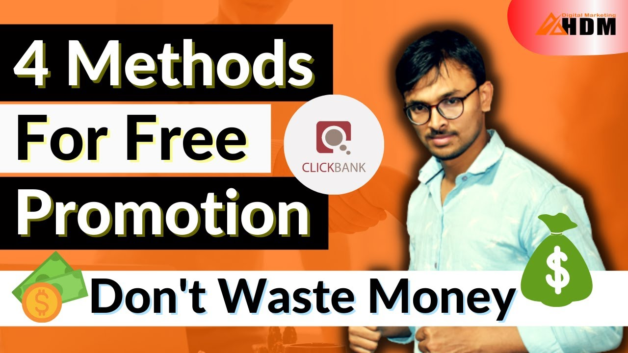 How To Promote Clickbank Products For Free 2021 | Clickbank Tutorial for Beginners in Hindi | HDM