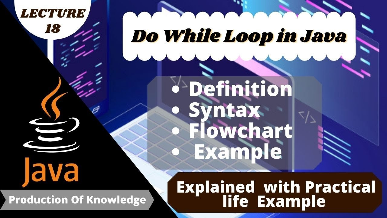 what is do while loop in java | Do while Loop in Java | Lecture 18
