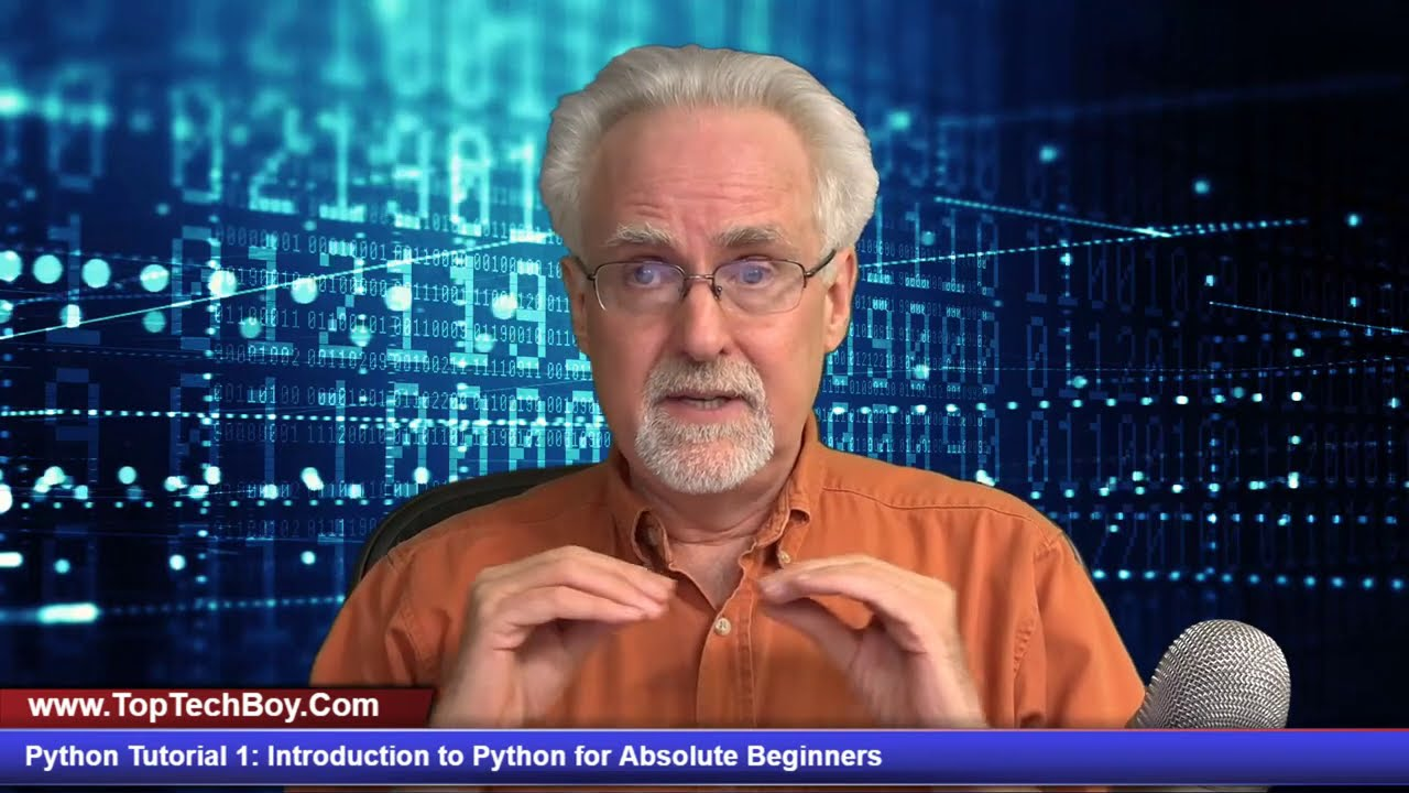 Python Tutorial 1: Introduction to Python for Absolute Beginners