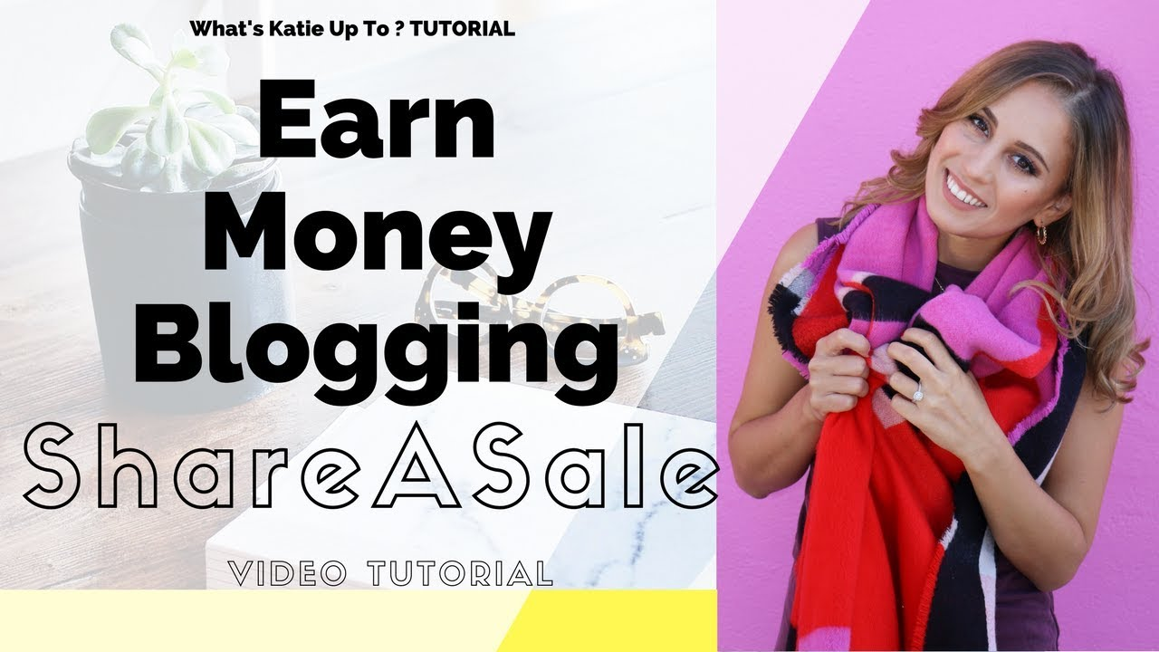 How to create Affiliate Links with SHAREASALE- Link Builder Tutorial