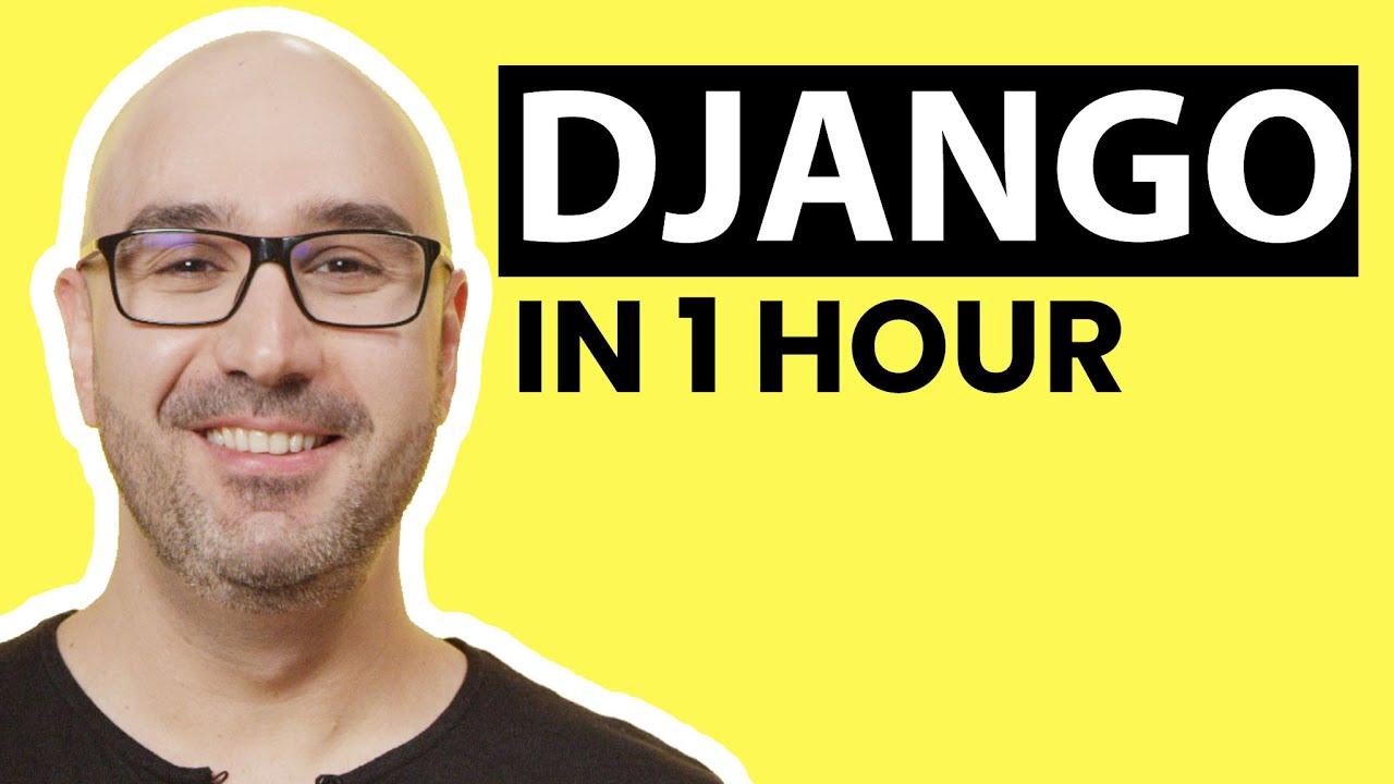 Django Tutorial for Beginners [2021]