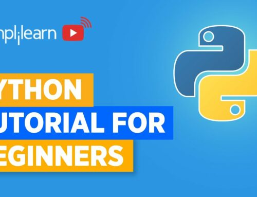 Python Tutorial For Beginners | Learn Python Programming In 6 Hours | Python Course | Simplilearn