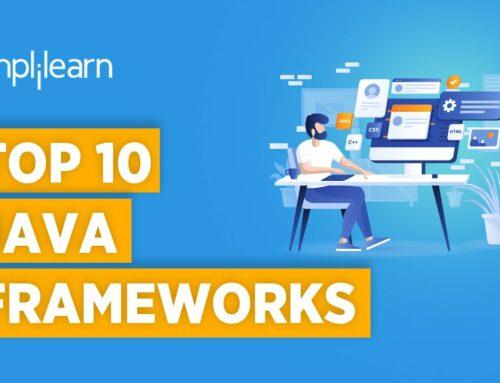 Top 10 Java Frameworks 2021 | Java Frameworks Tutorial For Beginners | Java Programming |Simplilearn